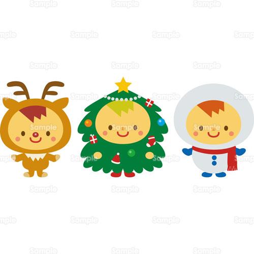トナカイ,クリスマスツリー ...