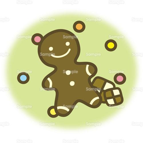 フード;クッキー,ジンジャークッキー,人形, ■イラスト情報 イラストの作者について  ジンジャ