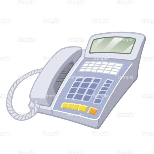 ビジネス;電話, 電話,のイラスト(195_0028) | クリエーターズスクウェア イラスト