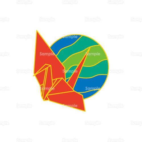 簡単 折り紙 折り紙 ツル : templatebank.com