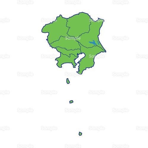 生活;地図,日本地図,関東地方,