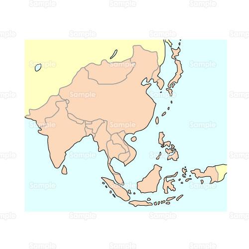 生活;地図,世界地図,アジア,東南アジア,
