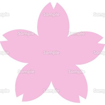 桜のイラスト(632) | 花歳時記 ... : 無料レターセットダウンロード : 無料