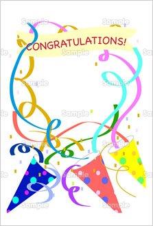 congratulations のテンプレート 素材 無料ダウンロード ビジネス