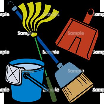 掃除道具のテンプレート素材無料ダウンロードビジネス