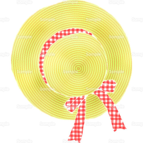 帽子麦わら帽子のイラスト0020045 クリエーターズスクウェア