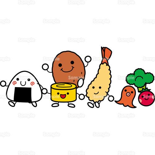 フード;お弁当,弁当,おかず,おにぎり,おむすび,卵焼き,ウインナー