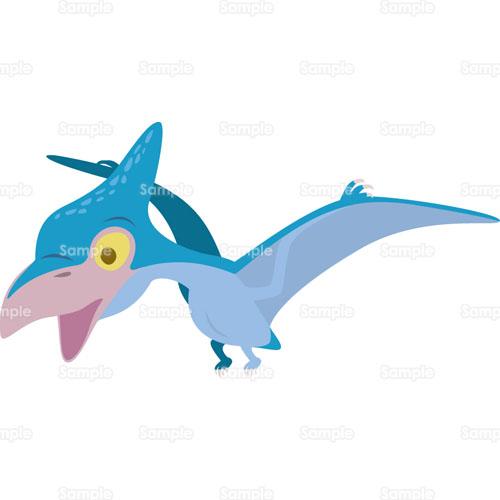 恐竜プテラノドンのイラスト0050333 クリエーターズスクウェア
