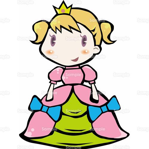昔話おとぎ話お姫様プリンセス人物女の子学園祭学芸会文化祭