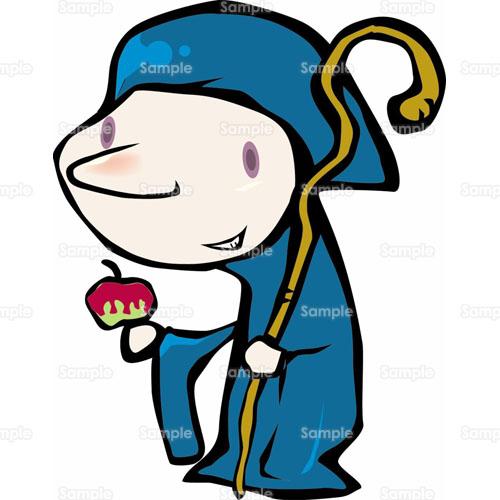 おとぎばなし人物学園祭文化祭学芸会杖白雪姫魔女
