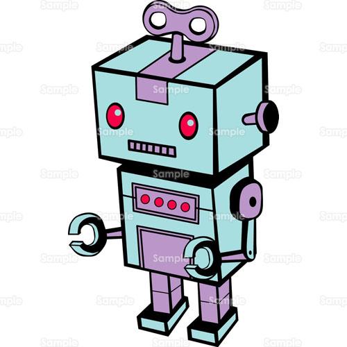 ロボットおもちゃのイラスト0430109 クリエーターズスクウェア