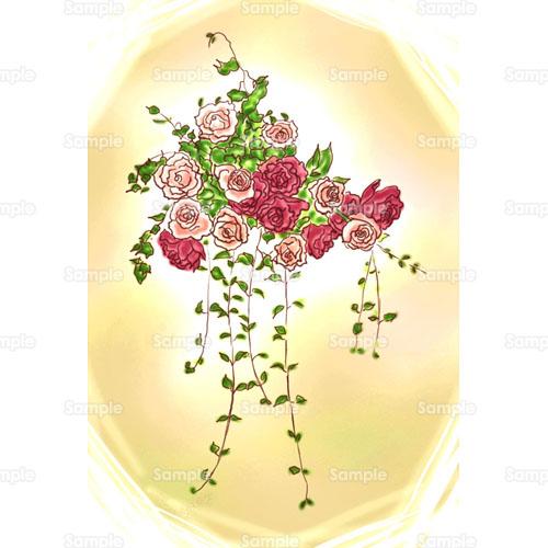 薔薇バラ花ブーケ花束のイラスト0550001 クリエーターズスクウェア