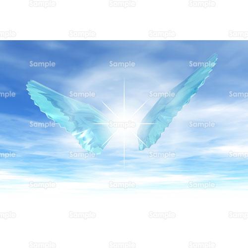 翼羽根のイラスト0690235 クリエーターズスクウェア