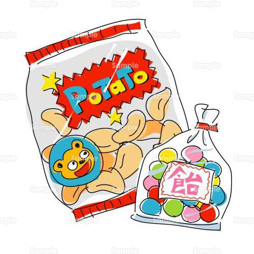 お菓子健康のイラスト0760015 クリエーターズスクウェア