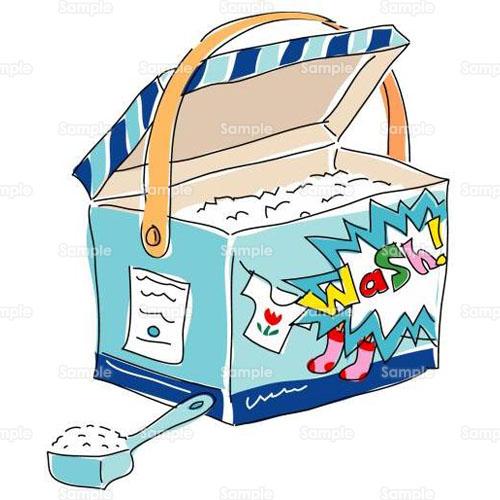 健康洗剤洗濯石鹸のイラスト0760028 クリエーターズスクウェア