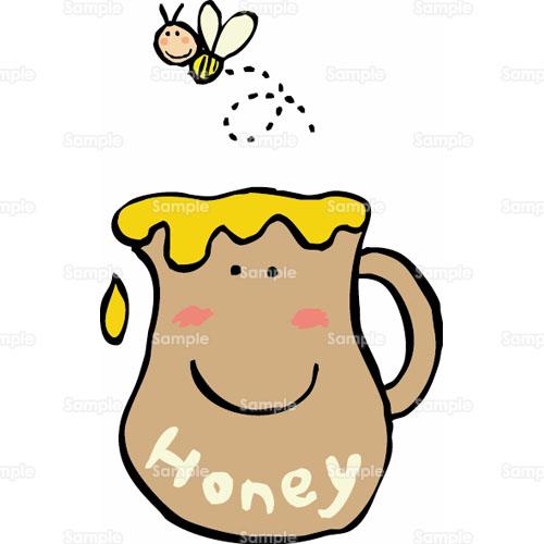 蜂蜜キッチンパステルカラー家のイラスト0930005 クリエーター