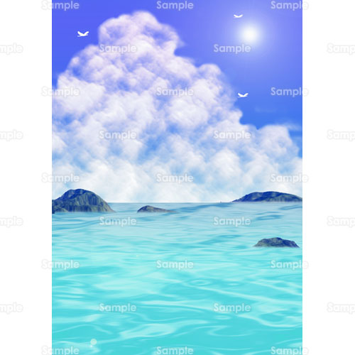 海雲のイラスト0940302 クリエーターズスクウェア