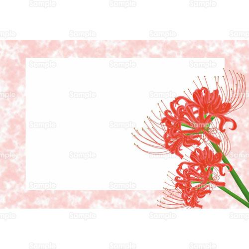 彼岸花 ヒガンバナ 曼珠沙華 マンジュシャゲ 花 のイラスト 105 0070 クリエーターズスクウェア