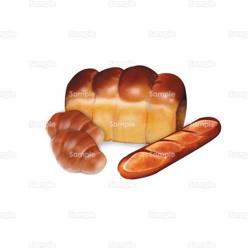 パン食パンフランスパンロールパンのイラスト1050130