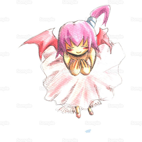 少女天使悪魔羽根のイラスト1180001 クリエーターズスクウェア