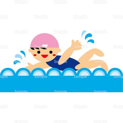 一年生 一年生 計算 : プール,水泳,のイラスト(122_0065 ...
