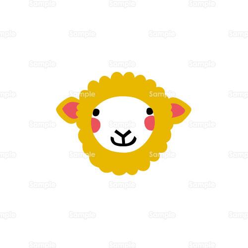 羊 ひつじ のイラスト 124 0110 クリエーターズスクウェア