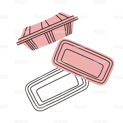 プラスチックトレイトレイゴミ分別リサイクルのイラスト1240138
