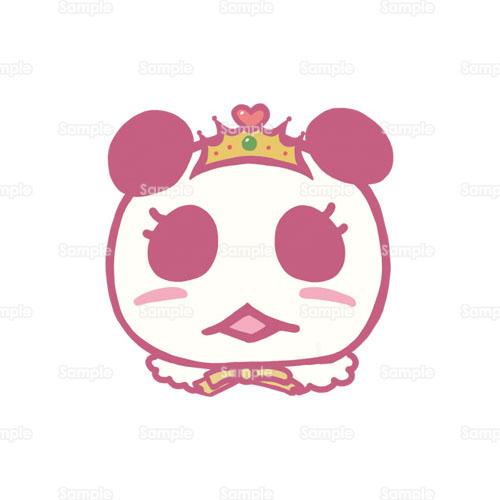 パンダティアラ王冠お姫様のイラスト1610087 クリエーターズ