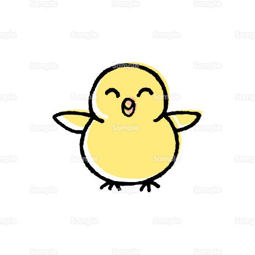 ヒヨコ鳥ヒナ雛のイラスト1780135 クリエーターズスクウェア