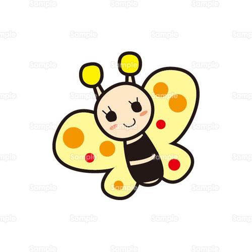 ちょうちょ蝶々蝶妖精昆虫ムシのイラスト1860012