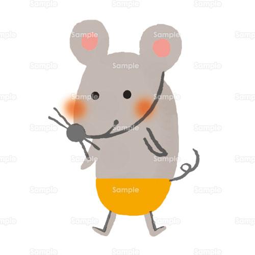 ねずみネズミ子干支のイラスト1980038 クリエーターズスクウェア