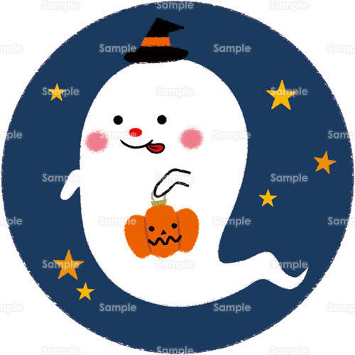 お化けおばけかぼちゃ南瓜ジャックランタン幽霊帽子夜星の