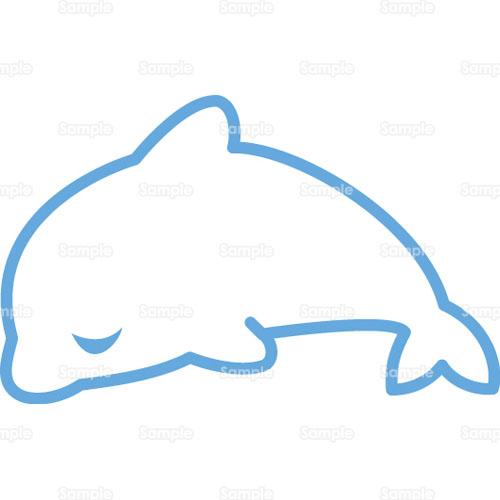 イルカのイラスト2100228 クリエーターズスクウェア