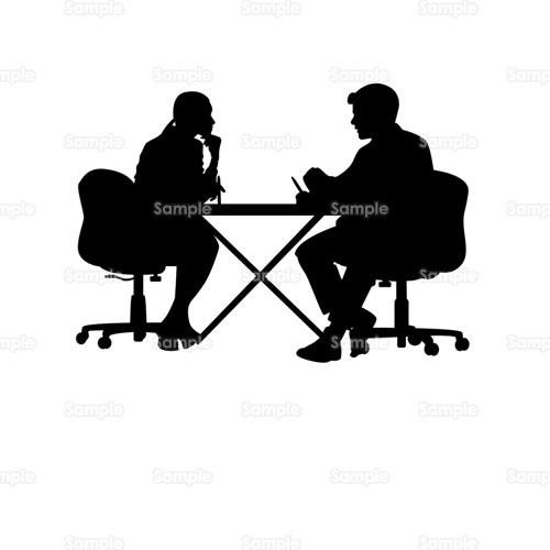 会議打ち合わせ相談ディスカッションミーティング机デスク椅子