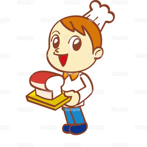 パン屋パン屋さんベーカリー食パンのイラスト2570002