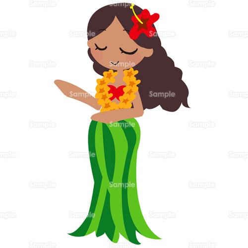 ハワイフラダンスハイビスカス女性レイリゾートダンス踊り髪飾り